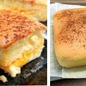 """Cách làm bánh bông lan vị phô mai """"made in"""" Đài Loan"""