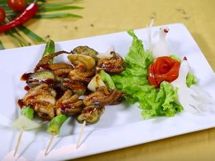 Video: Bạch tuộc nướng sả ngon cho cuối tuần