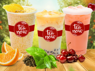 Giải nhiệt với cơn lốc trà trái cây tươi tại Tea Now